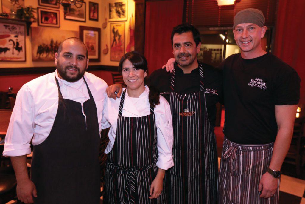 Diego Hernandez, Martha Placencia, Javier Placencia and Ryan Steyn.JPG