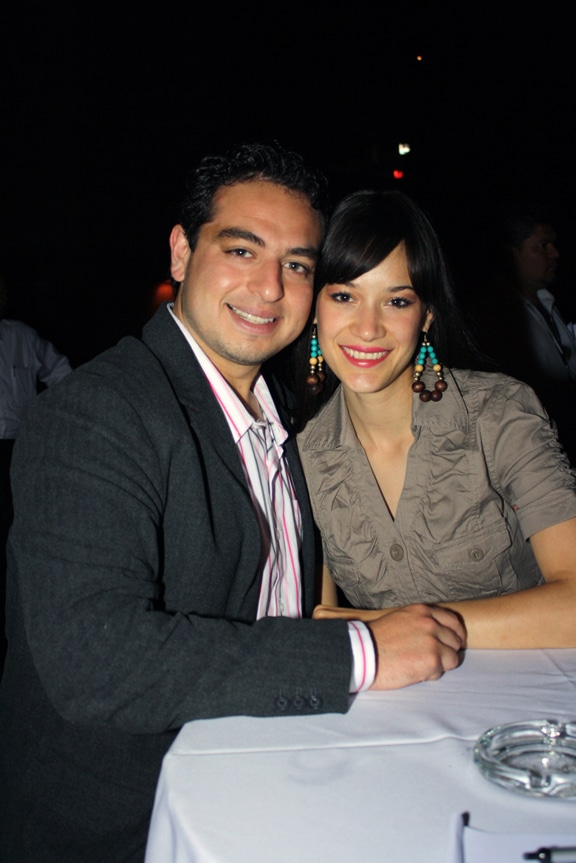Diego Uribe y Esmeralda Mendoza