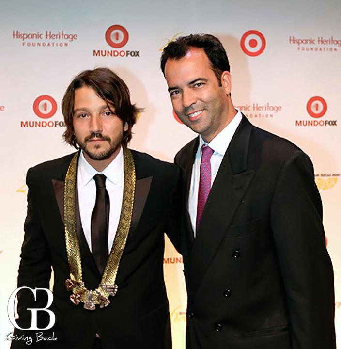 Diego Luna and Esteban Villanueva