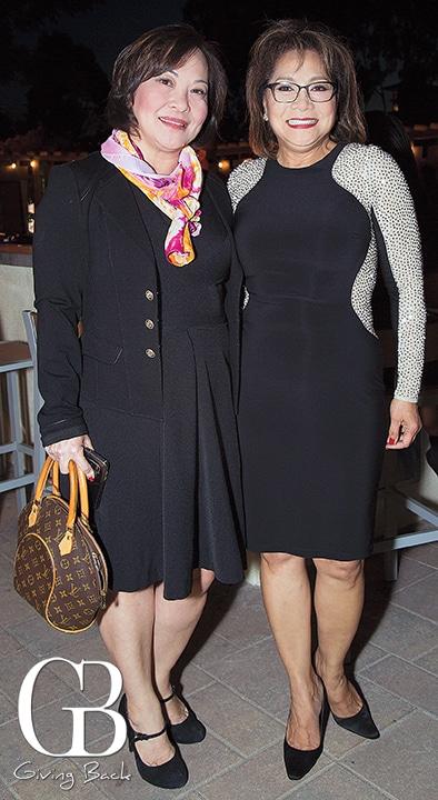 Dieu Pham and Gina Bolton