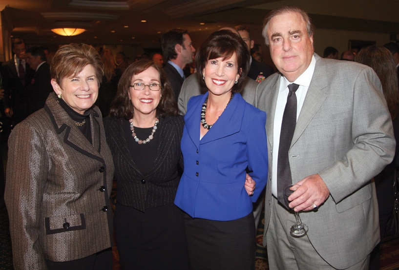 District Attorney Bonnie Dumanis, Julie Dubick, Kris Michell and Mitchell Dubick.JPG