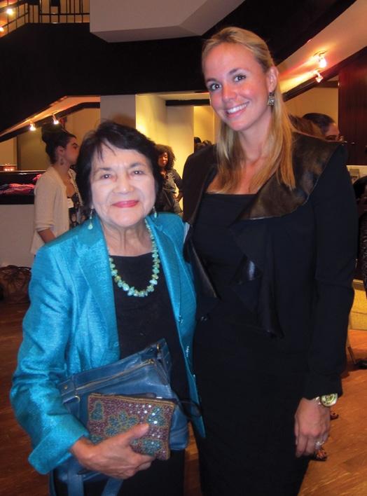 Dolores Huerta with Danitza Villanueva.JPG
