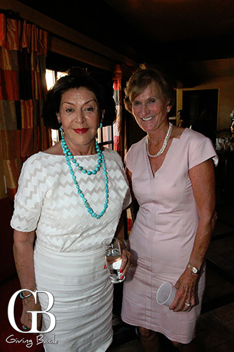 Dolores Clark and Betty Jones