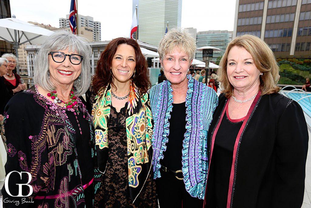 Dolores Forsythe  Janet Sharif  Deborah Lindholm and Debbie Turner