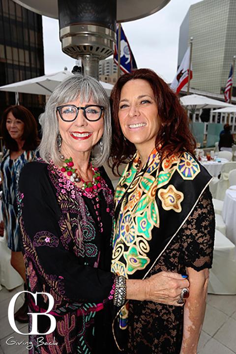 Dolores Forsythe and Janet Sharif