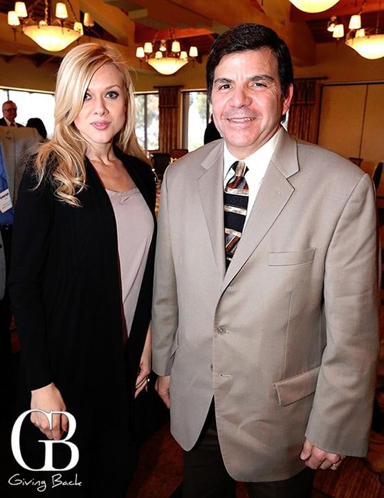 Dominika Foster and Tony Castellano