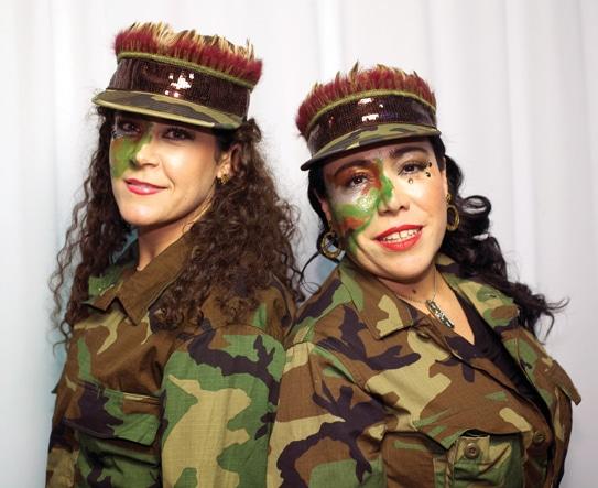 Domirene Sauceda y Marcela Jimenez