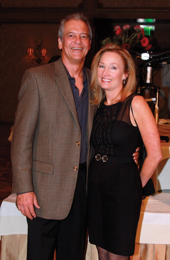 Don Lowrey and Denise Attig