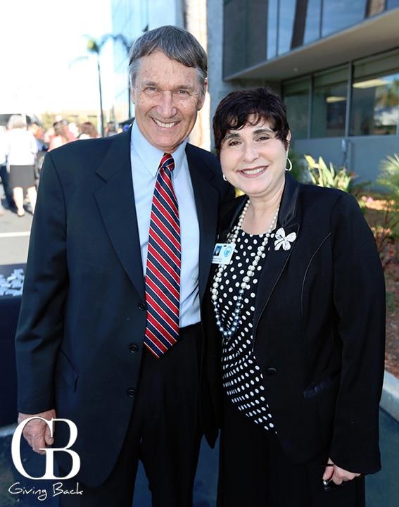 Don Roloff and Elizabeth Bustos