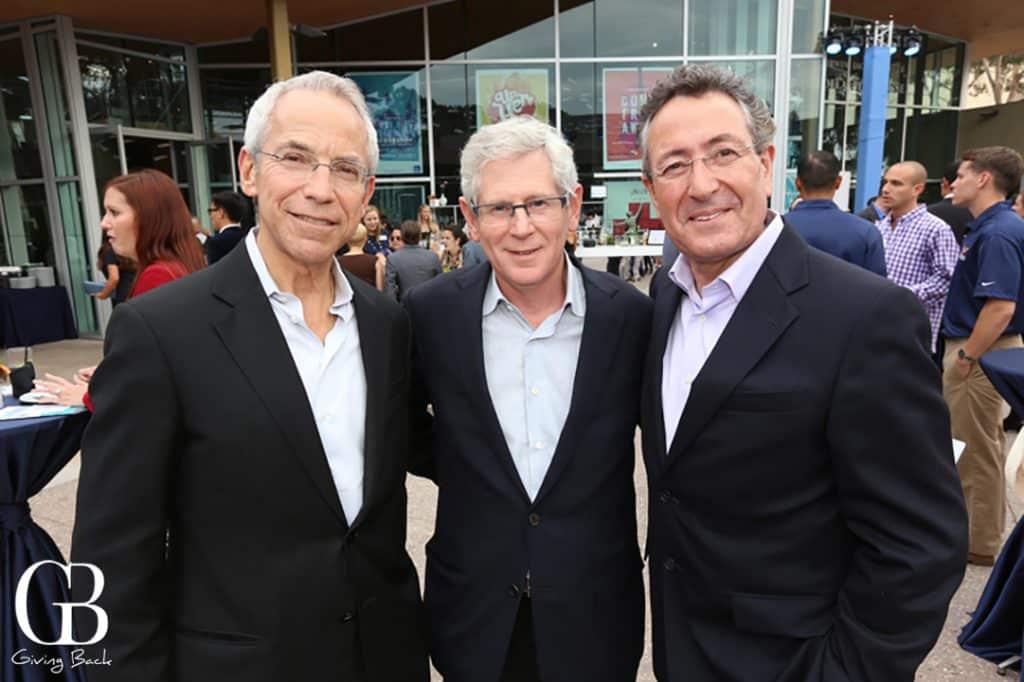 Don Rosenberg  Gad Shaanan and Dan Einhorn