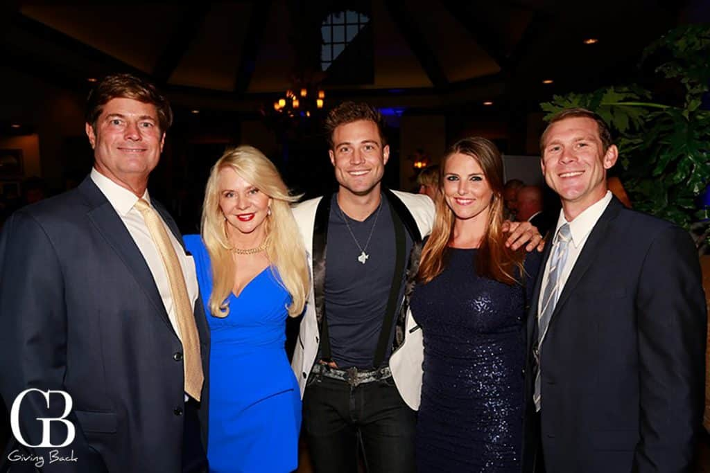Don  Kathryn and Don Vaughn with Christina and Michael Maggiora