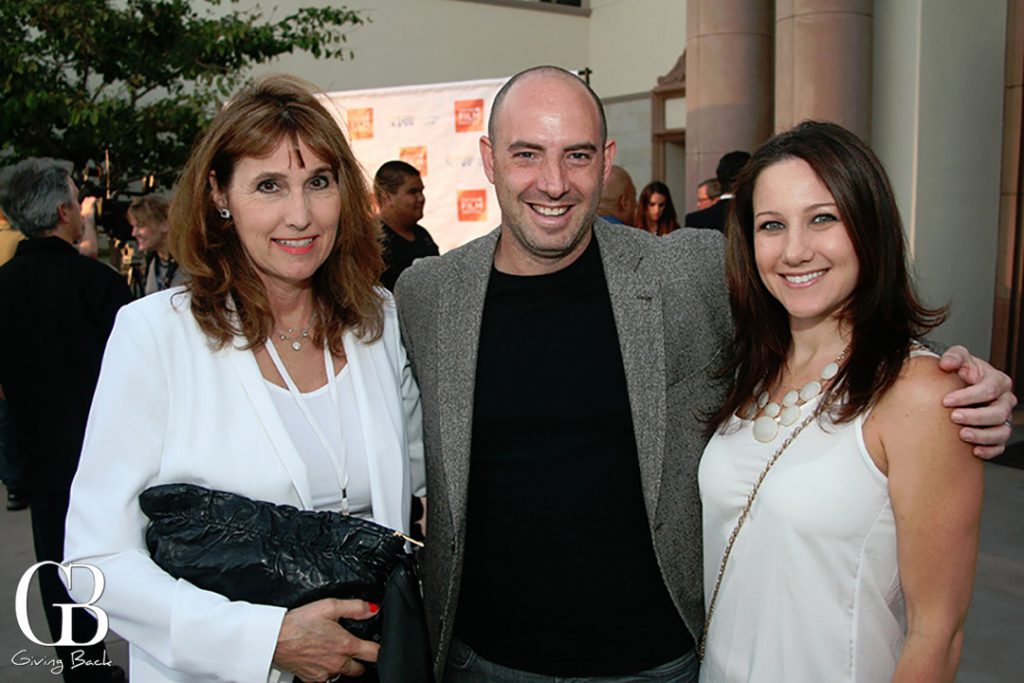 Doren McClure with Ryan and Randy Burman