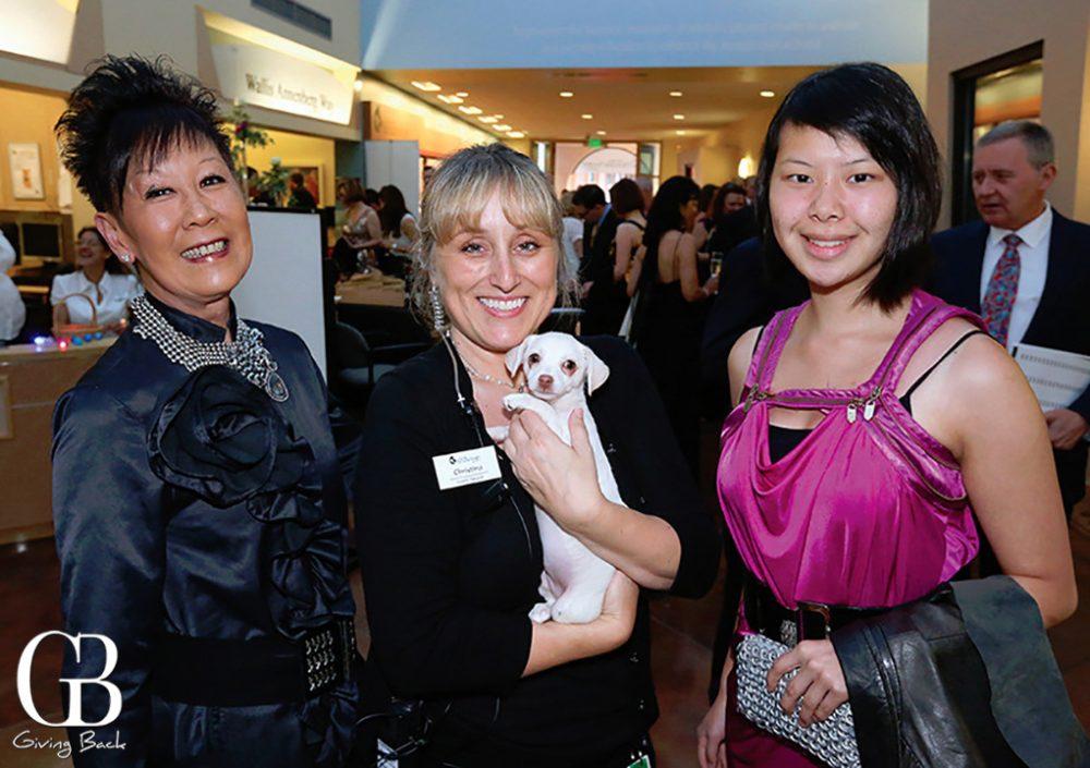 Dori Kaufman  Christina Hall and Kira Kaufman with Roo