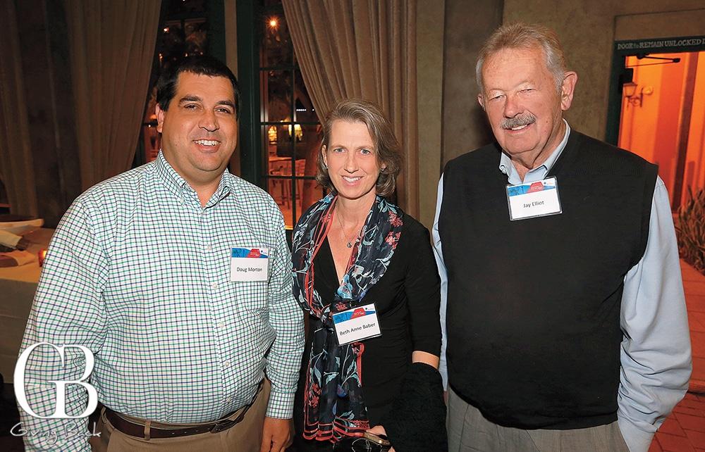 Doug Morton  Beth Anne Baber and Jay Elliot
