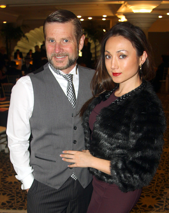Doug Tribble and Kim Warshaw