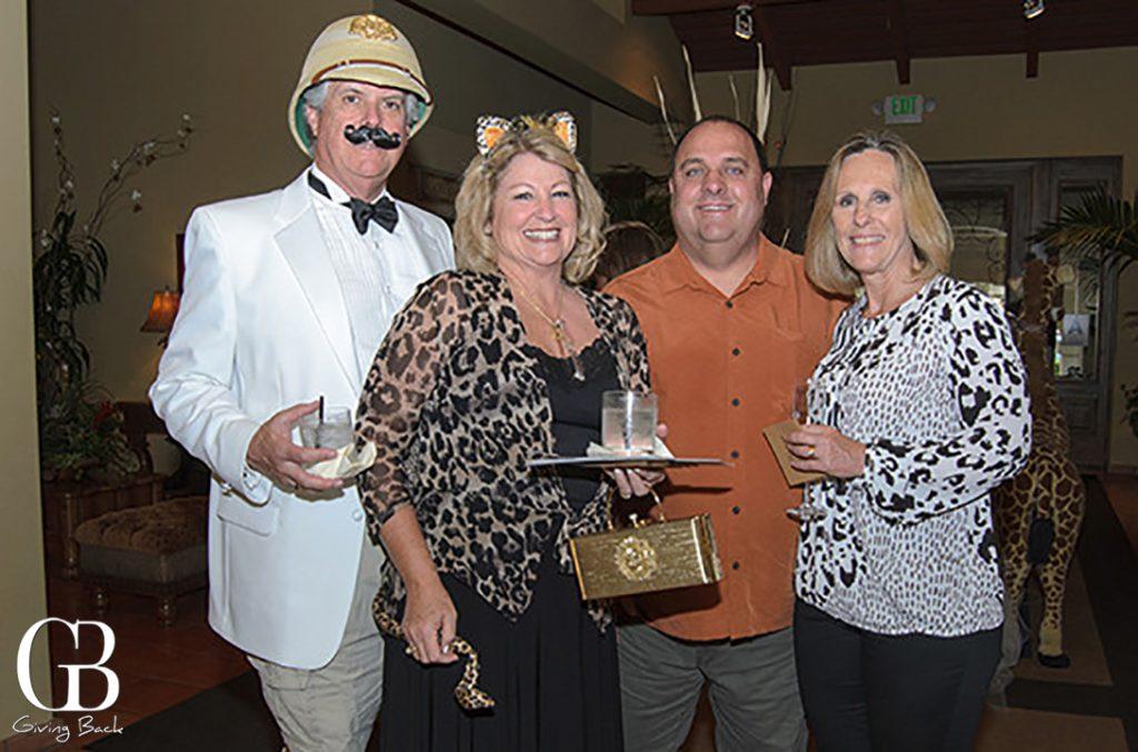 Doug and Barbara Fuller with Eric and Lisa Johnson