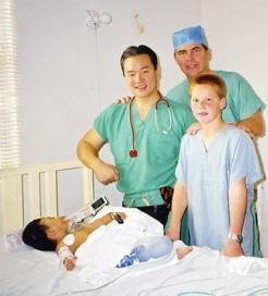 Dr. Kincaid donates his time.JPG