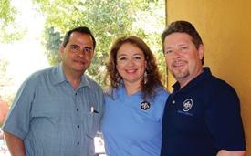 Dr. Lopez, Rosalva Martha Patten and Tim Patten