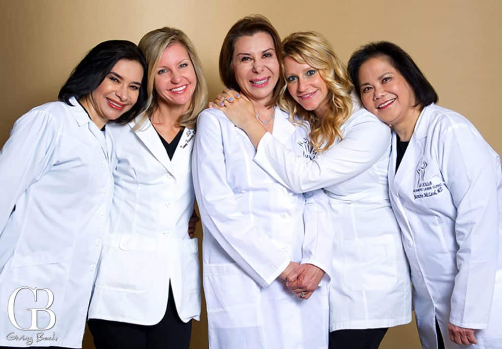 Dr. Mani and her team