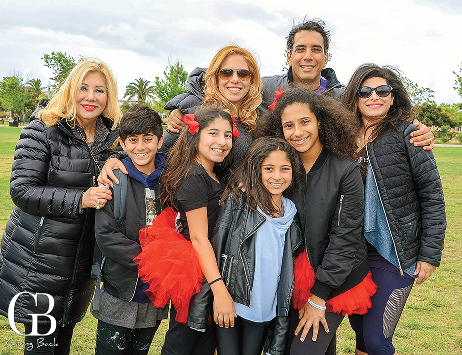 Dr. Sean Daneshmand with his family