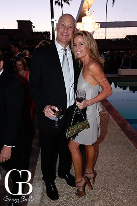 Drew Gissinger and Jennifer Van Galder