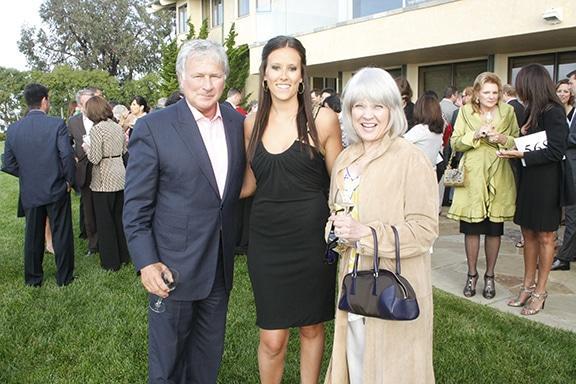 Duane Roth, Hallie Waite and Renee Roth.JPG