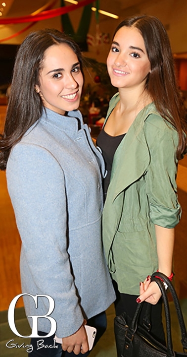 Dulce Contreras y Paula Villanueva
