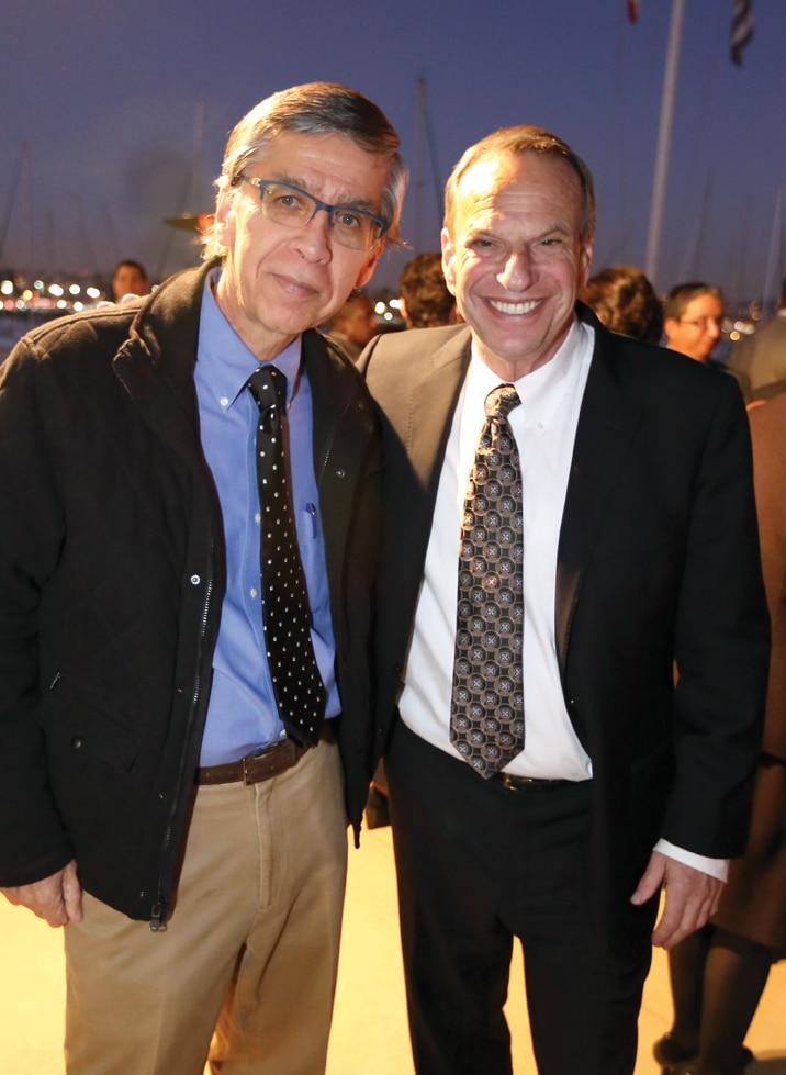Ed Martinez and Mayor Bob Filner.JPG