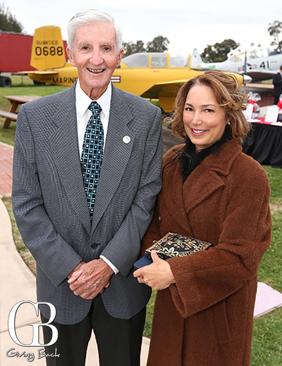 Ed Deroche and Paty Meacham