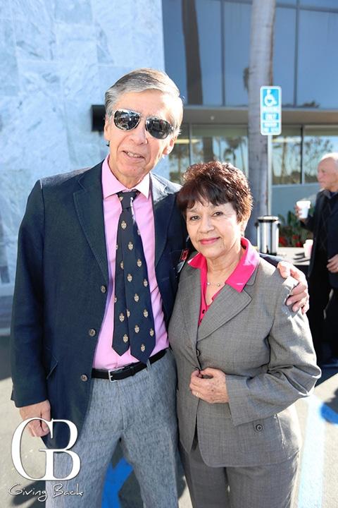 Ed Martinez and Gloria Ramirez