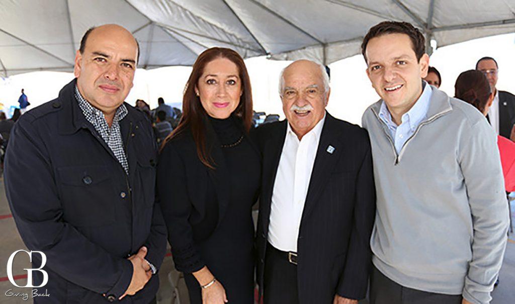 Edgar Torres  Pely Guevara  Enrique Gamboa y Carlos Torres