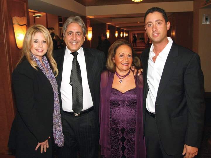 Edie and Michel Gour with Rachel Plaksin and Jason Gour.JPG
