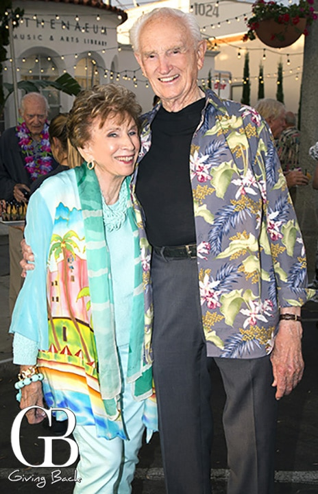Edith Eger and Eugene Cook