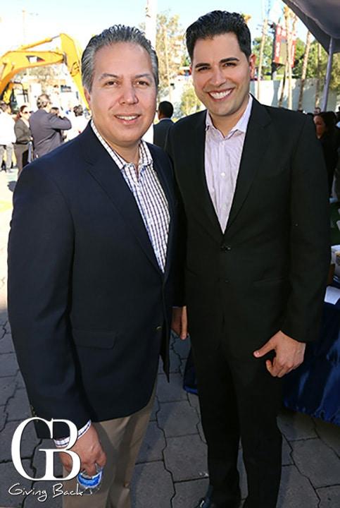 Eduardo Valerio y Mark Arbo