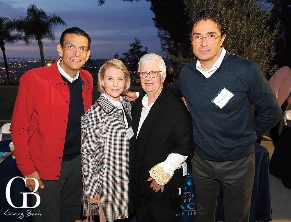 Eduardo and Catherine Rojo  Jeanette Handelsman and Jose Luis Perez Rocha