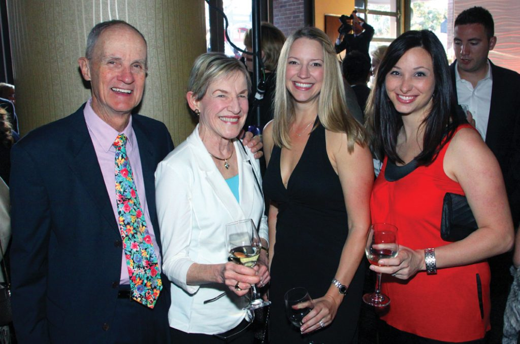 Edward and Carolyn Parrish with Monica Dillon and Kristen Londono.JPG