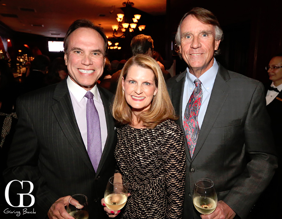 Edward and Kari Gill with Mitchell Woodbury