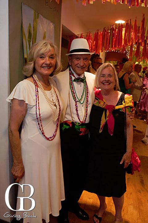 Effie Lendburg  Hillary Brady and Ralph Lendburg