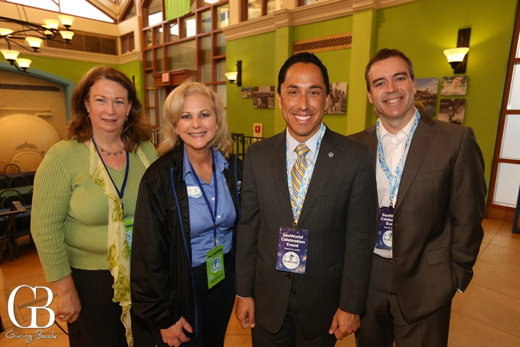 Eileen Sigler  Marilyn Hannes  Councilman Todd Gloria and Mark Cafferty