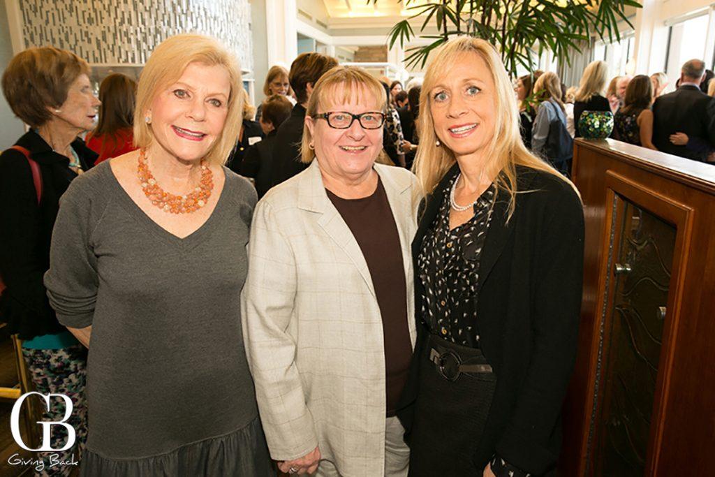 Elaine Darwin  Silvia Devine and Emily Scott