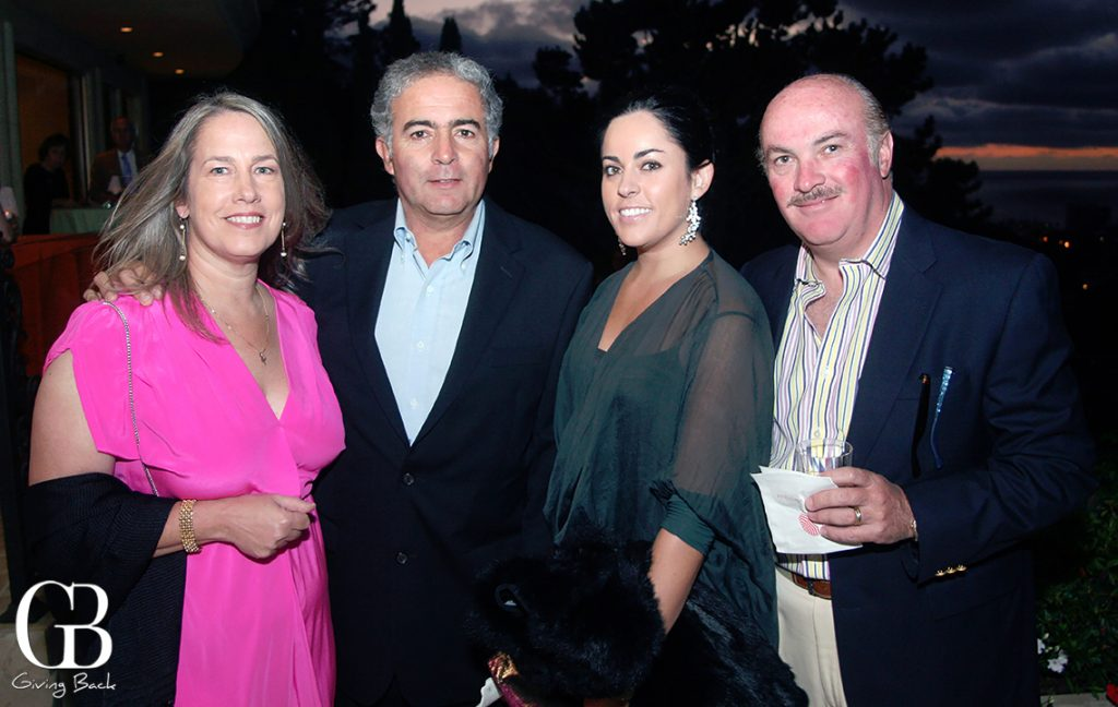 Elaine and Carlos Cervantes with Andrea Iturbe and Ray Fletcher