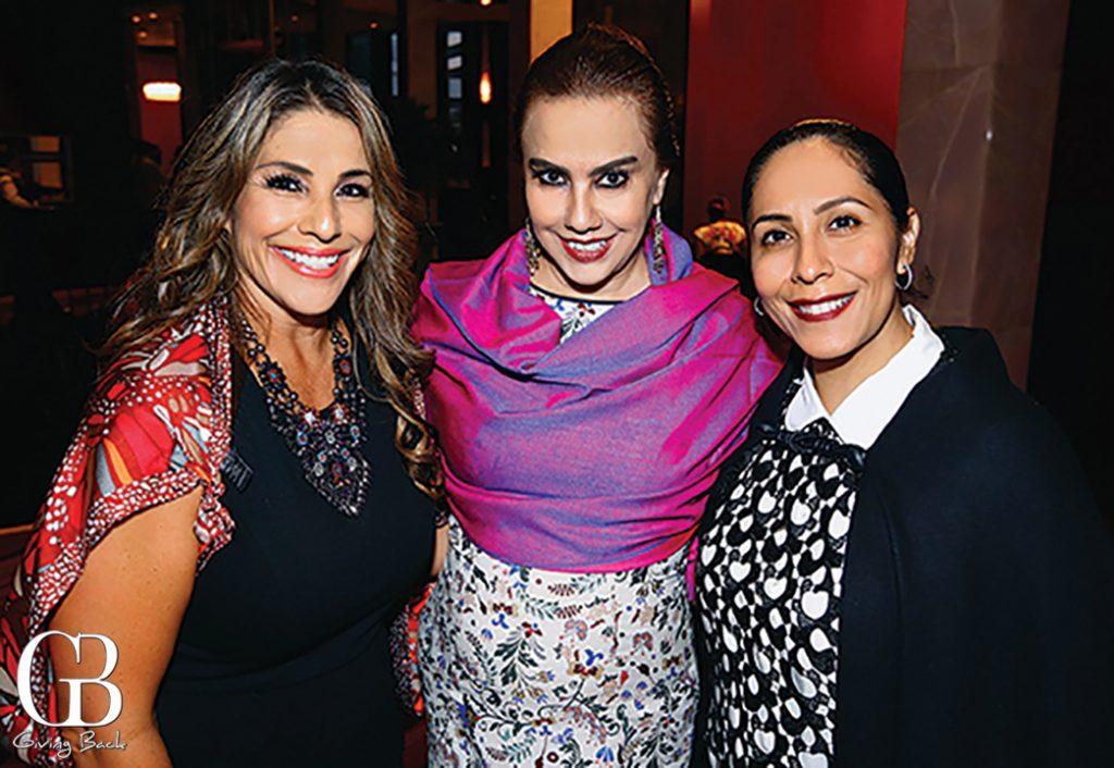 Elena Corral  Mery Lopez Gallo and Luisa McCarthy