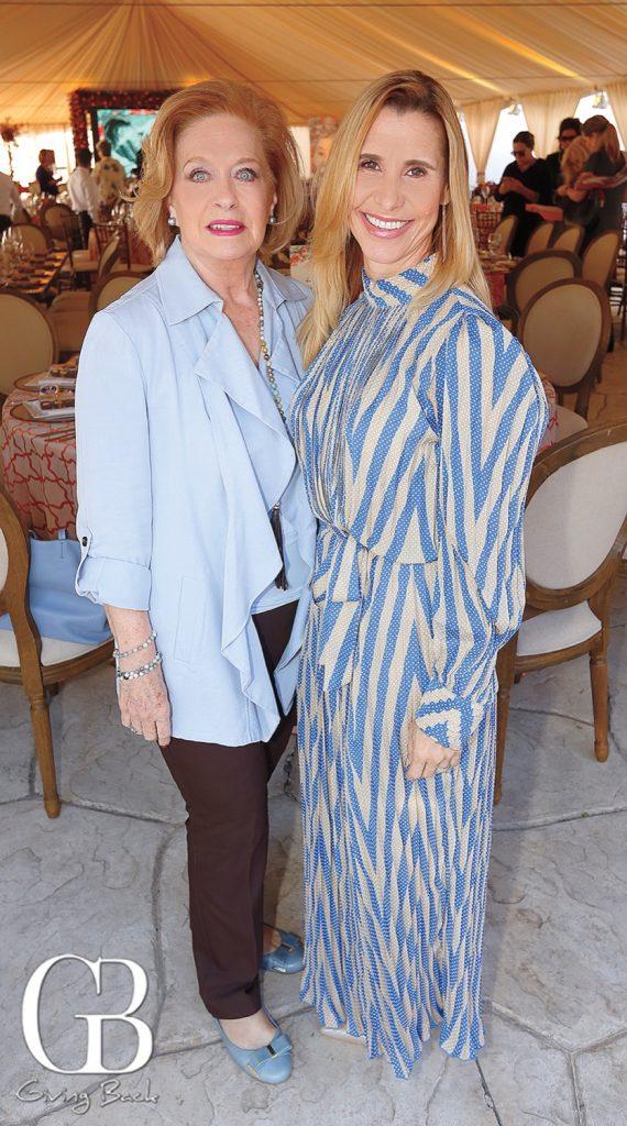 Elena Lamadrid and Fabrizia Arriola