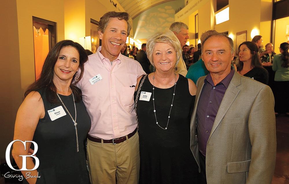 Elena Salsitz  Ken Cohen with Judith and Gene Francello