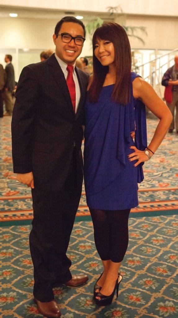 Elgin Aguilar and Lee Ann Kim +