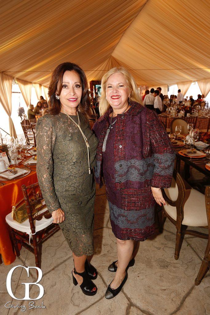 Elisa Jaime and Monica Fimbres