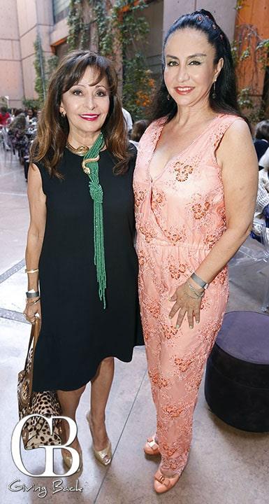 Elisa Jaime y Ana Teresa de la Mora
