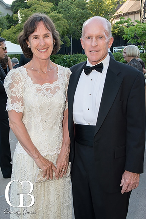 Elisabeth and Brian Forbes