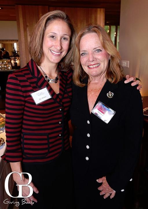 Elise Webster and Marleen Shook
