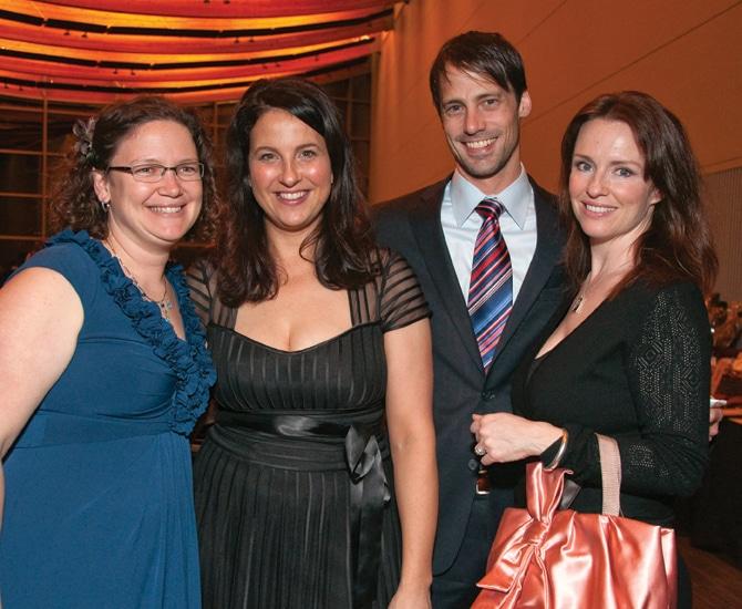 Elizabeth Stevens, Amanda Gosman, Kevin Brumand and Mariah Sarkey Burmund